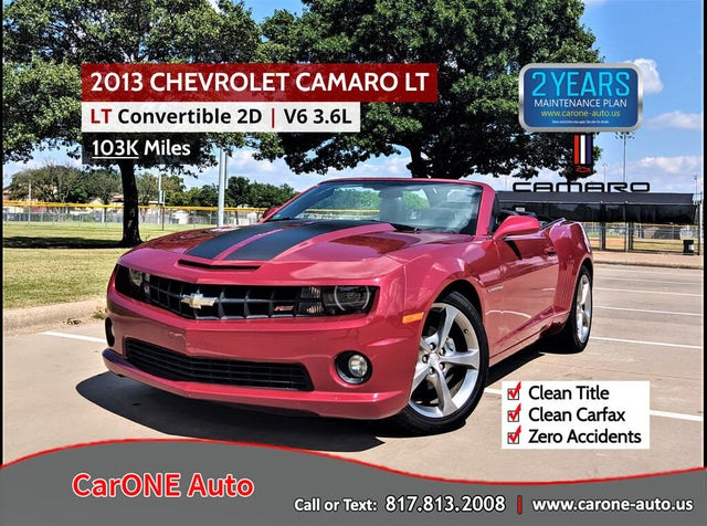 2013 Chevrolet Camaro 2LT Convertible RWD