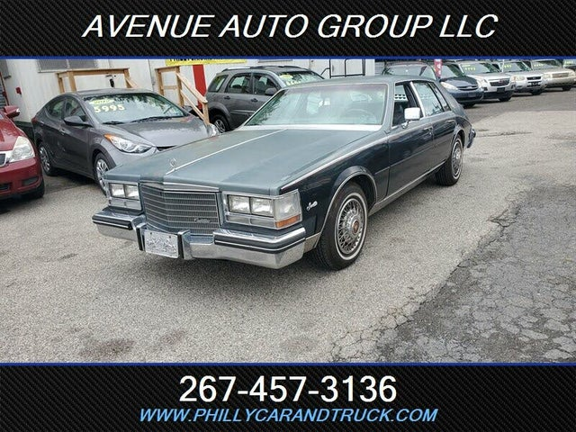 1985 Cadillac Seville FWD