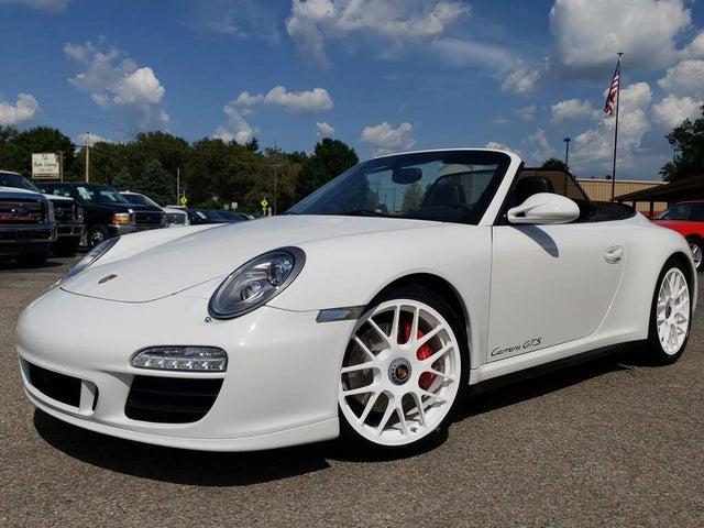 2011 Porsche 911 Carrera GTS Cabriolet RWD