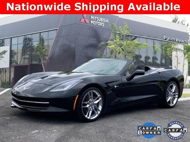2018 Chevrolet Corvette Stingray 1LT Convertible RWD