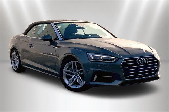 2019 Audi A5 2.0T quattro Premium Plus Cabriolet AWD