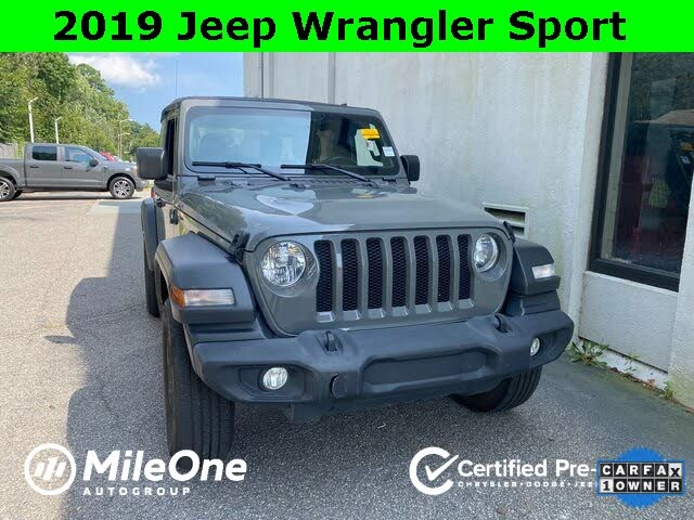 2019 Jeep Wrangler Sport S 4WD