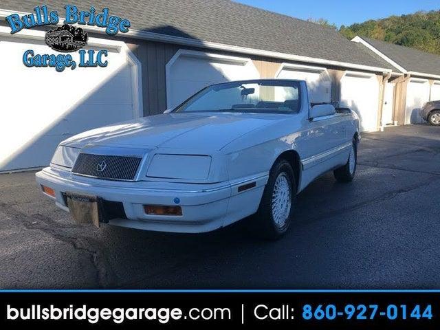 1988 Chrysler Le Baron Highline Convertible