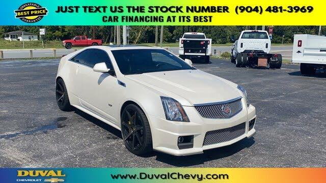 2012 Cadillac CTS-V Coupe RWD