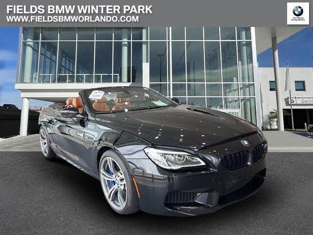 2018 BMW M6 Convertible RWD