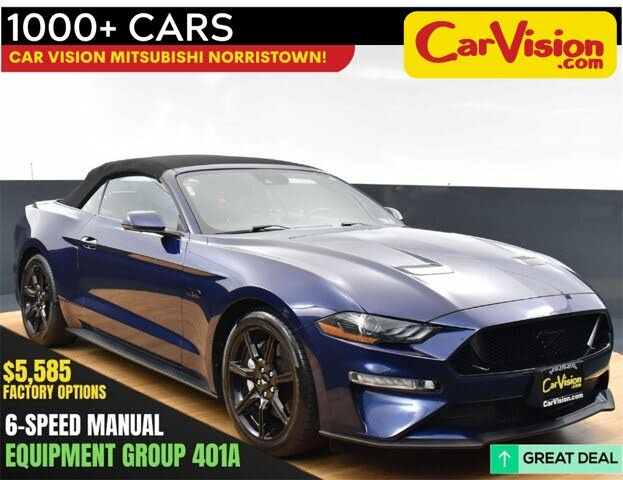 2018 Ford Mustang GT Premium Convertible RWD