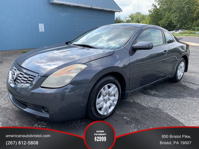 2009 Nissan Altima Coupe 2.5 S