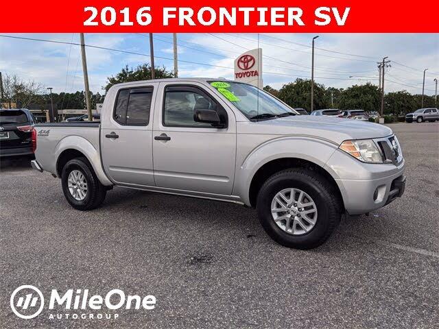 2016 Nissan Frontier SV Crew Cab 4WD
