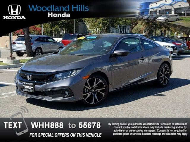 2019 Honda Civic Coupe Sport FWD