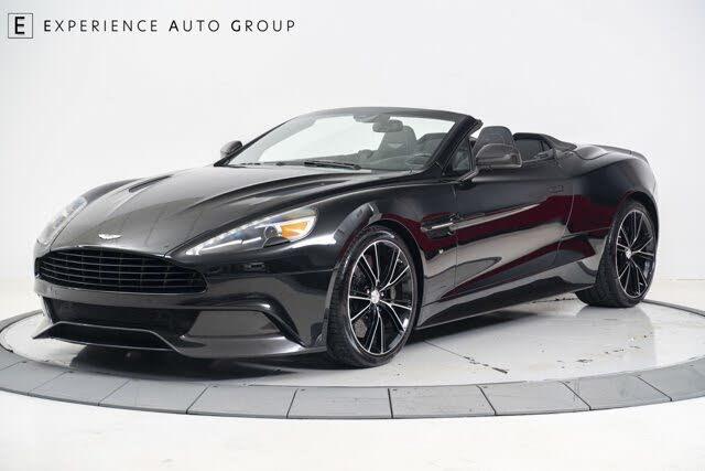 2016 Aston Martin Vanquish Carbon Edition Volante Convertible RWD