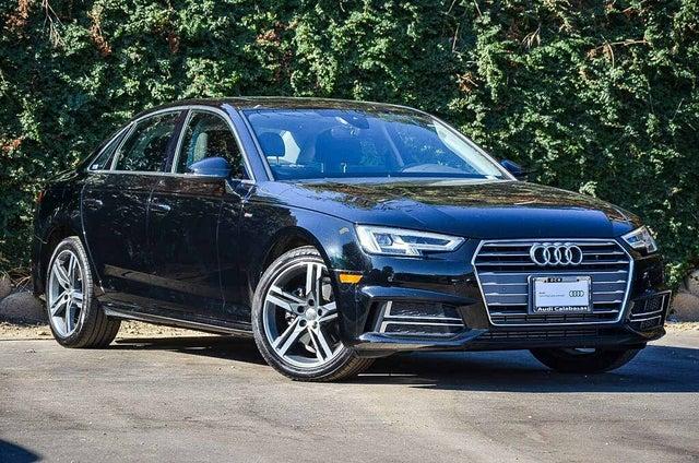 2018 Audi A4 2.0T ultra Premium Plus FWD