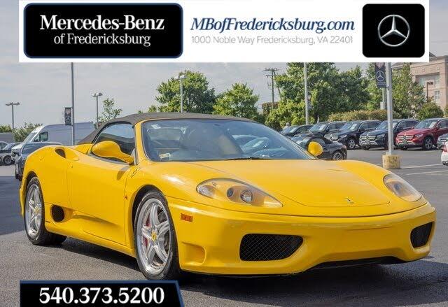 2003 Ferrari 360 Spider RWD