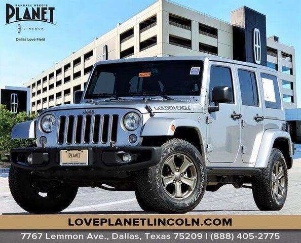 2018 Jeep Wrangler Unlimited JK Golden Eagle 4WD