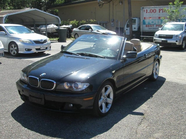 2004 BMW 3 Series 325Ci Convertible RWD