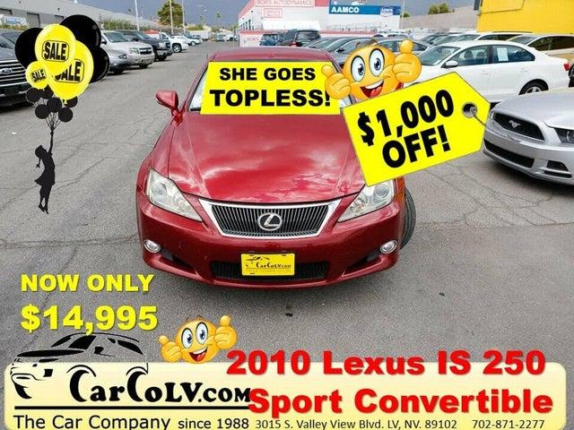 2010 Lexus IS 250C Convertible RWD