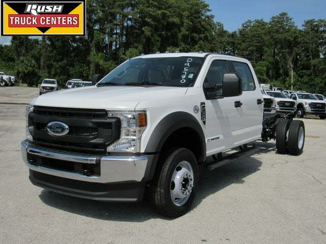 2021 Ford F-550 Super Duty Chassis XL Regular Cab DRW 4WD