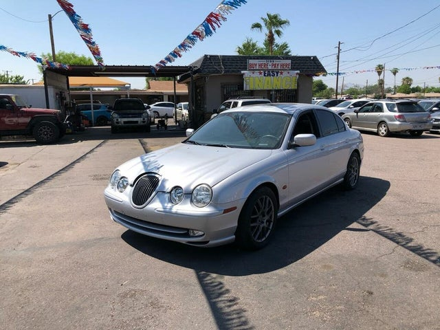 2002 Jaguar S-TYPE 3.0L V6 RWD