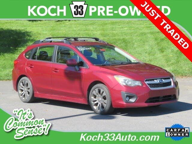 2013 Subaru Impreza 2.0i Sport Premium Hatchback