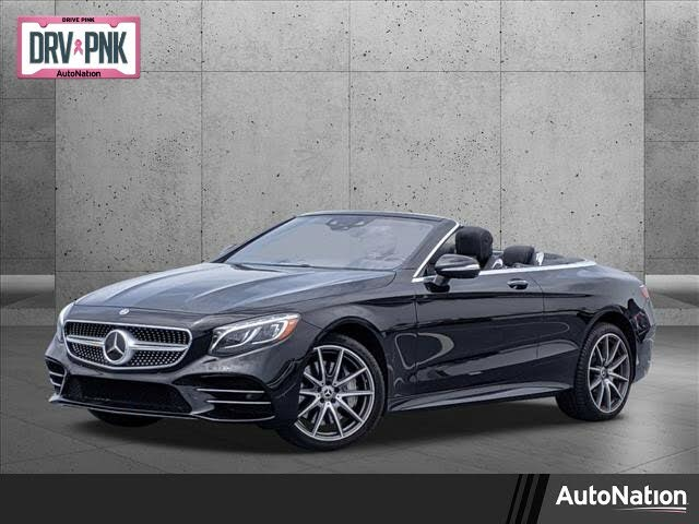 2019 Mercedes-Benz S-Class Coupe S 560 Cabriolet RWD