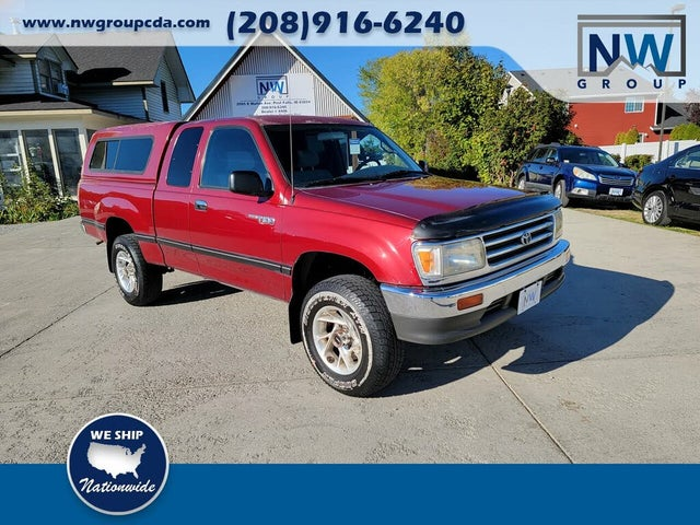 1997 Toyota T100 2 Dr DX 4WD Extended Cab SB