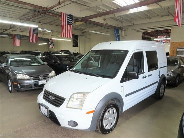 2013 Ford Transit Connect Cargo XLT FWD with Side and Rear Glass