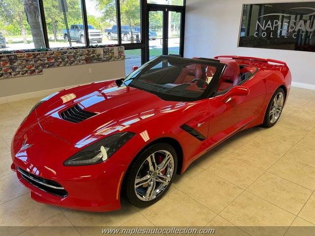 2016 Chevrolet Corvette Stingray 3LT Convertible RWD