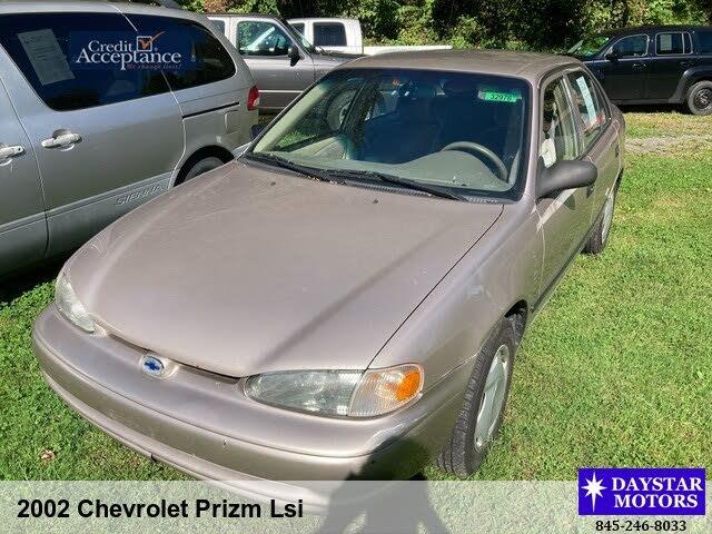 2002 Chevrolet Prizm LSi FWD