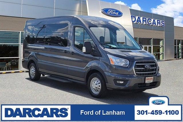2020 Ford Transit Passenger 350 XLT LWB AWD with Sliding Passenger-Side Door