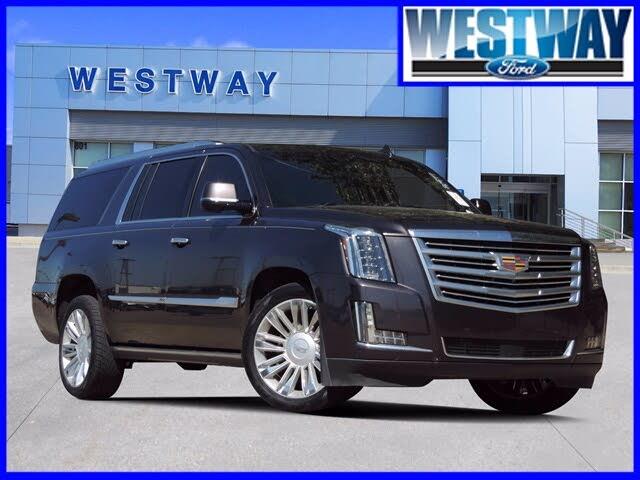 2016 Cadillac Escalade ESV Platinum RWD