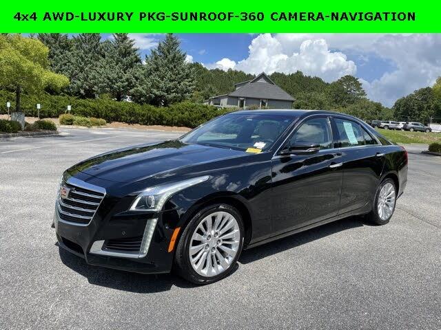 2018 Cadillac CTS 3.6L Premium Luxury AWD
