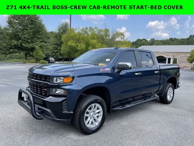 2020 Chevrolet Silverado 1500 Custom Trail Boss Crew Cab 4WD