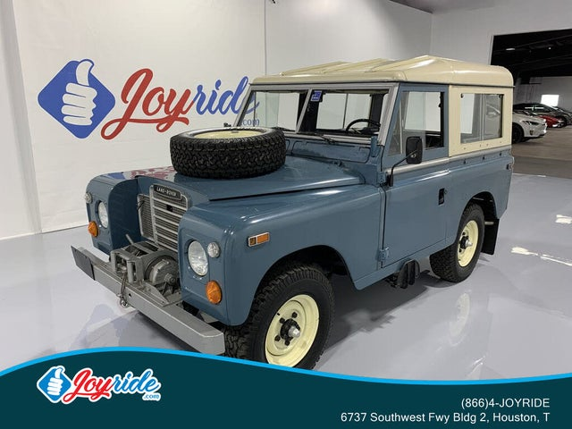1973 Land Rover Series III 4WD