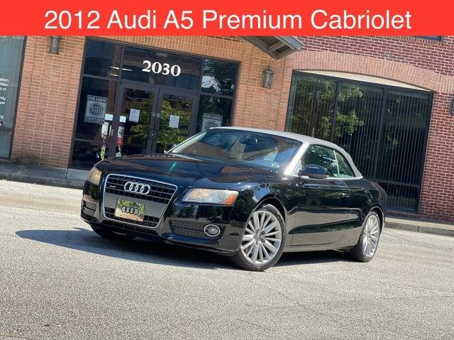 2012 Audi A5 2.0T quattro Premium Cabriolet AWD