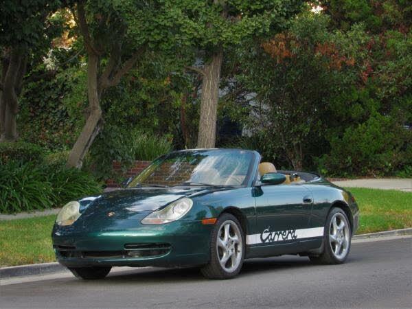 2001 Porsche 911 Carrera 4 Cabriolet AWD