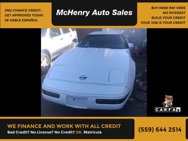 1994 Chevrolet Corvette Convertible RWD
