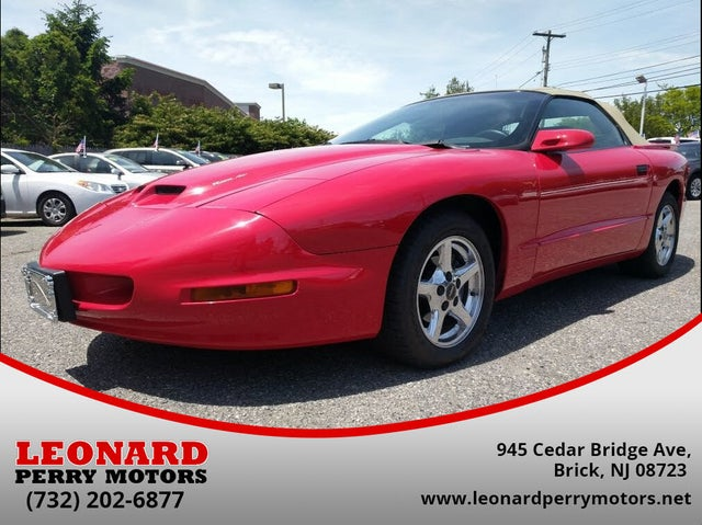 1997 Pontiac Firebird Formula Convertible