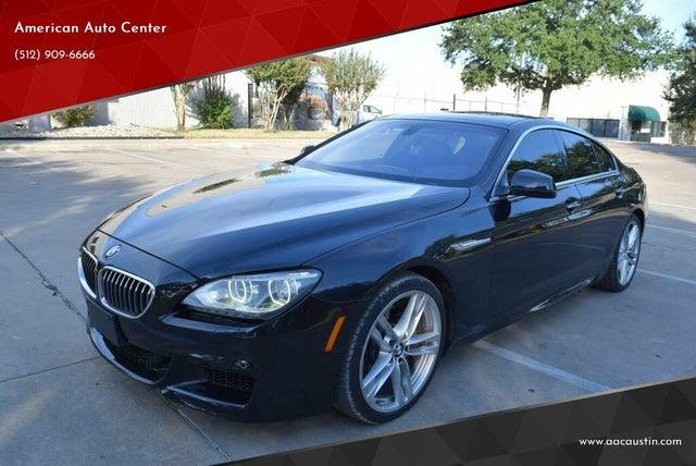 2013 BMW 6 Series 640i Gran Coupe RWD