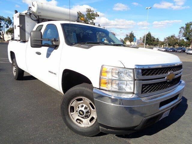 2013 Chevrolet Silverado 2500HD Work Truck Extended Cab LB RWD