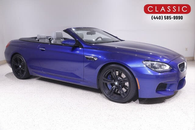 2015 BMW M6 Convertible RWD