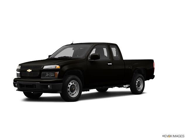 2012 Chevrolet Colorado Work Truck Extended Cab 4WD