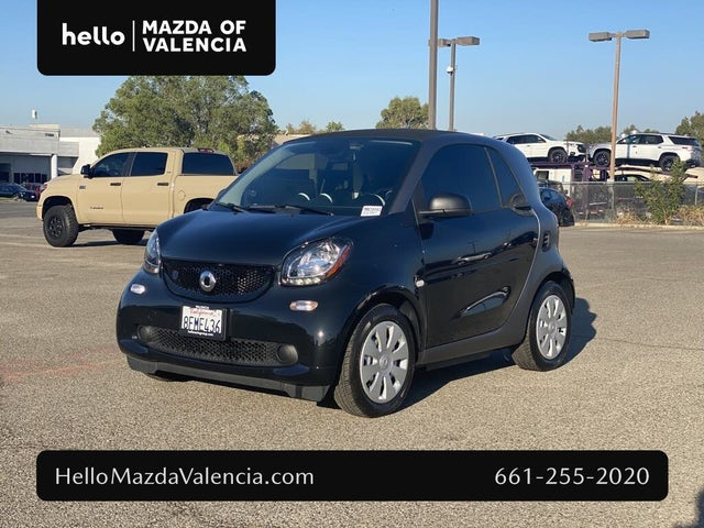 2018 smart fortwo electric drive pure hatchback RWD