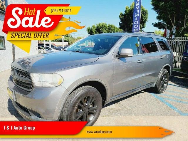 2012 Dodge Durango Crew Lux RWD