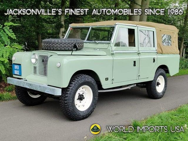 1972 Land Rover Series III