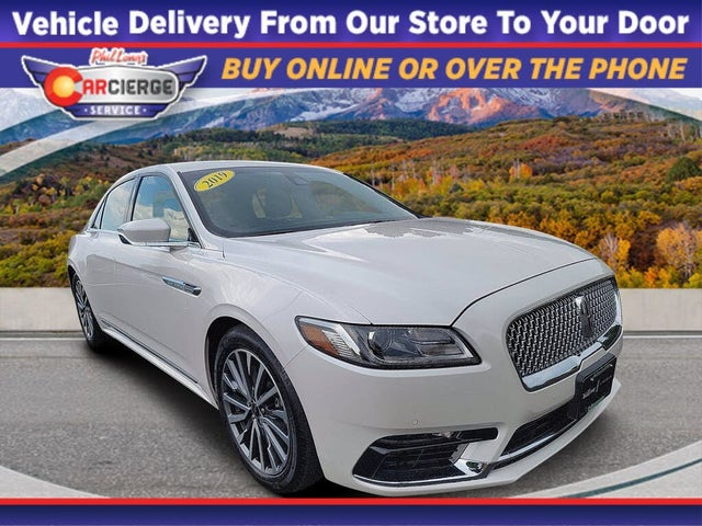 2019 Lincoln Continental Select AWD