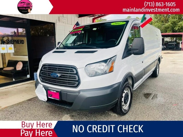 2017 Ford Transit Cargo 250 3dr LWB Low Roof Cargo Van with 60/40 Passenger Side Doors