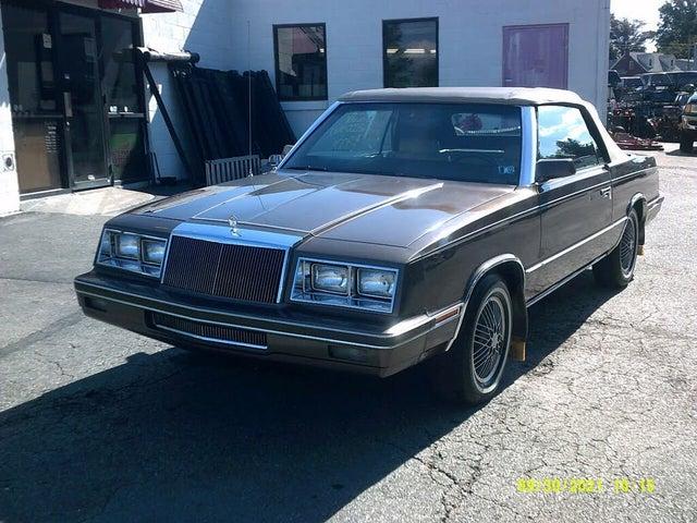 1984 Chrysler Le Baron Base Convertible