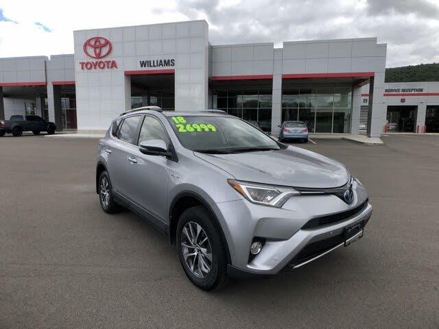 2018 Toyota RAV4 Hybrid XLE AWD
