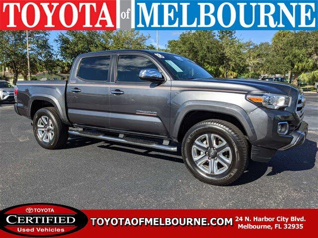 2018 Toyota Tacoma Limited Double Cab RWD