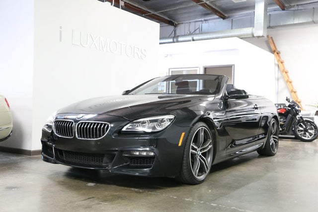 2018 BMW 6 Series 640i Convertible RWD