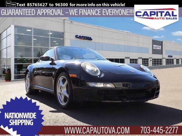 2008 Porsche 911 Carrera Cabriolet RWD